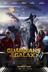 Guardians of the Galaxy - locandina
