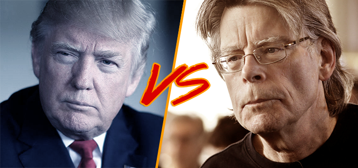 "Stephen King vs Donald Trump su Twitter: ""no clowns for you"""